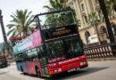На автобусе по Барселоне