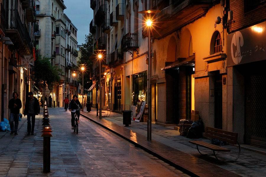 Испанские города улицы фото